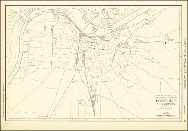 13-Kentucky Map By Rand McNally & Company