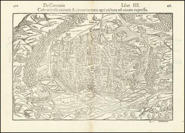 26-Nord et Nord-Est Map By Sebastian Munster