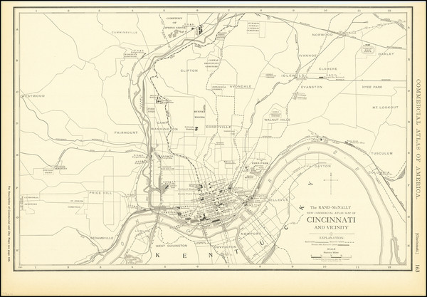 12-Ohio Map By Rand McNally & Company