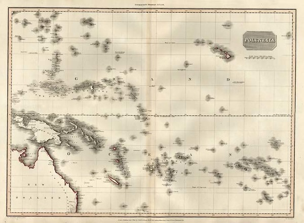 84-Asia, Southeast Asia, Australia & Oceania, Australia, Oceania and Other Pacific Islands Map