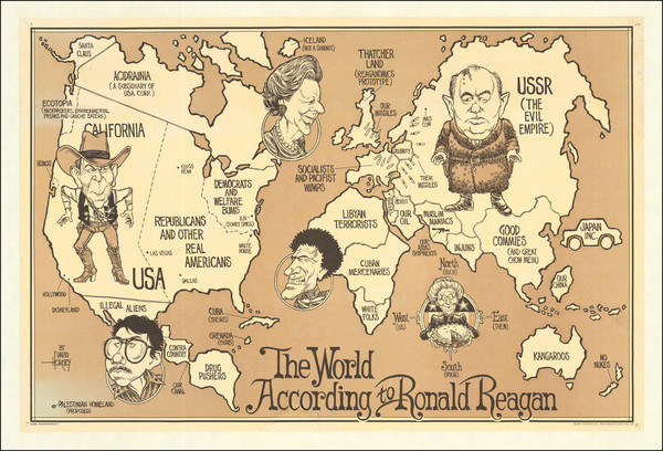 40-World, United States and Pictorial Maps Map By David Horsey