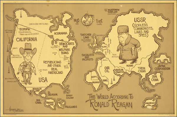 81-World, United States and Pictorial Maps Map By David Horsey