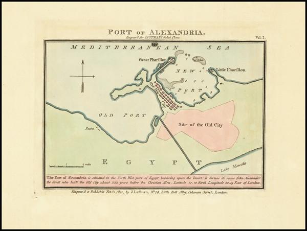 23-Egypt Map By John Luffman