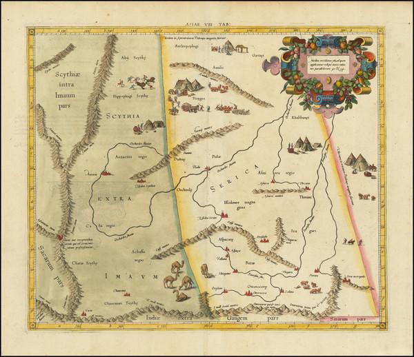 20-China Map By  Gerard Mercator