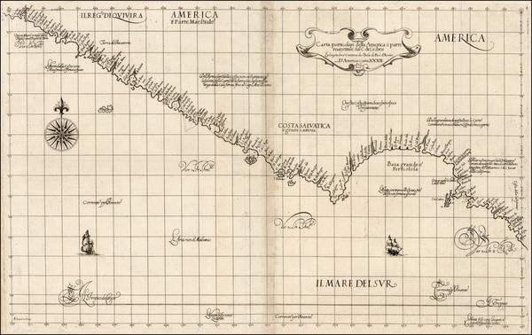 64-Baja California and California Map By Robert Dudley