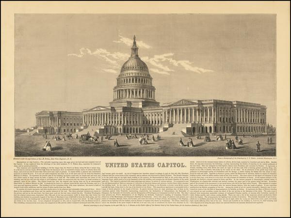 49-Washington, D.C. Map By Alvin Jewett Johnson