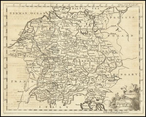 11-Germany Map By Thomas Jefferys