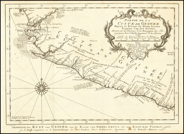 14-West Africa Map By J.V. Schley