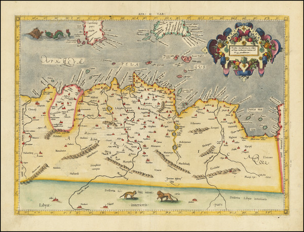 53-North Africa Map By