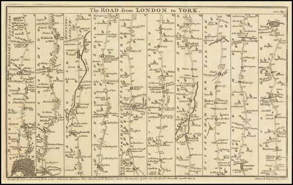65-England Map By Gentleman's Magazine