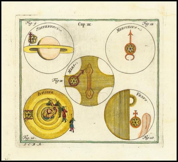 4-Celestial Maps Map By Corbinianus Thomas