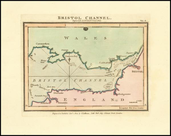 69-England Map By John Luffman