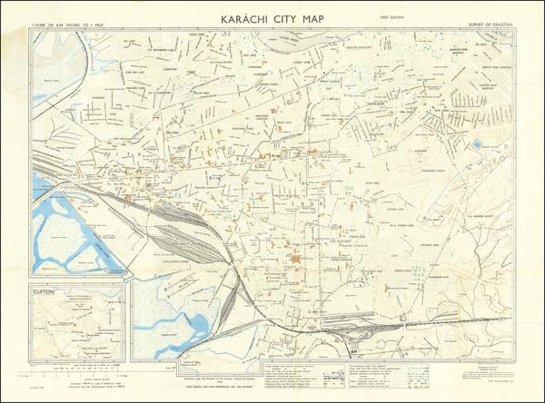 15-Pakistan Map By Survey General of Pakistan