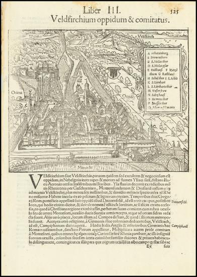 52-Austria Map By Sebastian Munster