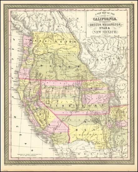 53-Arizona, Colorado, Utah, Nevada, New Mexico, Colorado, Idaho, Montana, Utah, Wyoming, Oregon, W