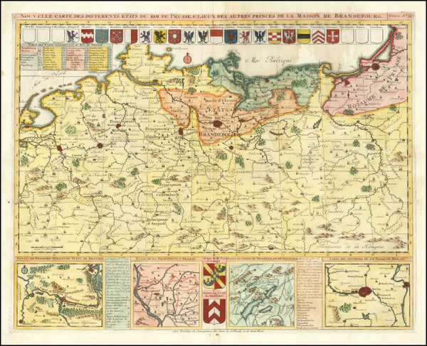 84-Poland and Norddeutschland Map By Henri Chatelain