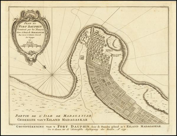 28-African Islands, including Madagascar Map By J.V. Schley