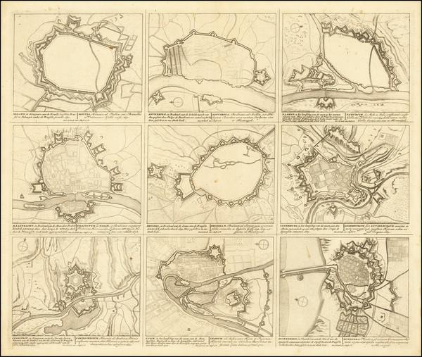 45-Netherlands and Belgium Map By Peter Schenk