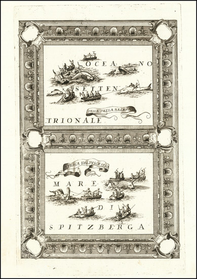 91-Polar Maps and Atlantic Ocean Map By Vincenzo Maria Coronelli
