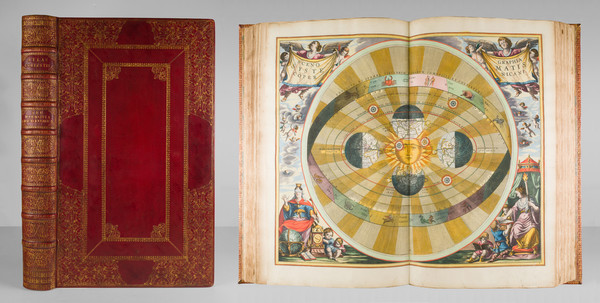 89-Atlases and Celestial Maps Map By Andreas Cellarius