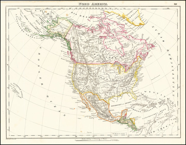 30-North America Map By Carl Flemming