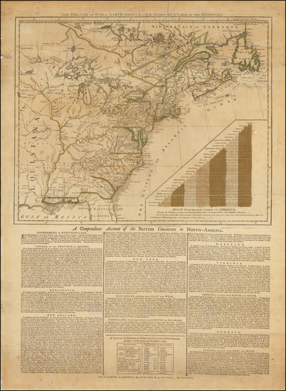 5-United States, North America and American Revolution Map By Robert Sayer  &  John Bennett