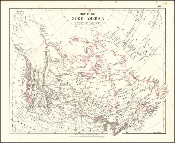 55-Canada Map By Carl Flemming