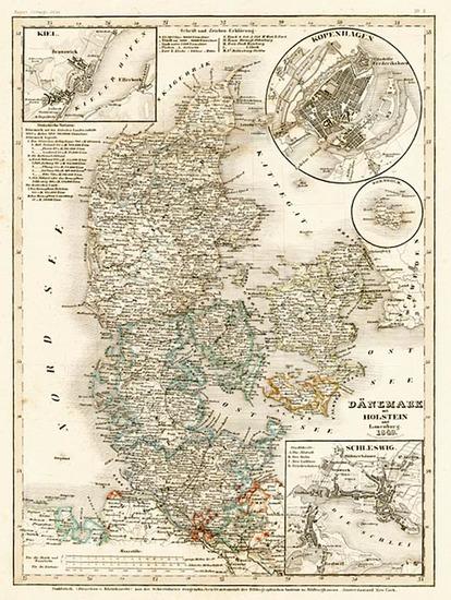 48-Europe and Scandinavia Map By Joseph Meyer
