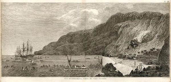 82-Hawaii, Australia & Oceania and Hawaii Map By James Cook