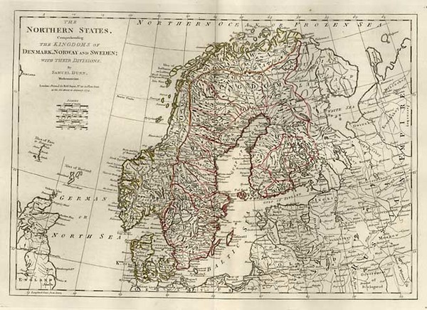69-Europe, Baltic Countries and Scandinavia Map By Samuel Dunn