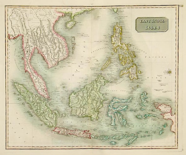 19-Asia, China, Southeast Asia, Philippines, Australia & Oceania and Other Pacific Islands Map