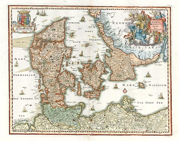 8-Europe and Scandinavia Map By Christopher Weigel