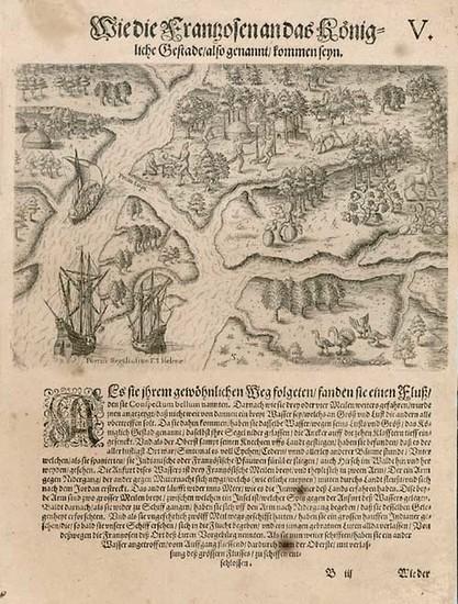 75-Southeast Map By Theodor De Bry