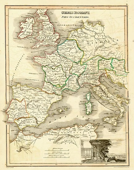 95-Europe, Europe, Italy, Spain, Mediterranean and Africa Map By John Wyld