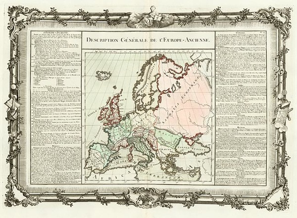 54-Europe and Europe Map By Buy de Mornas