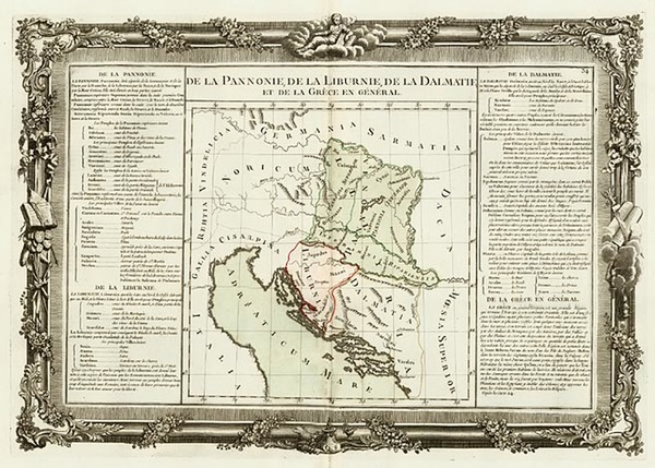 72-Europe, Balkans, Italy and Mediterranean Map By Buy de Mornas