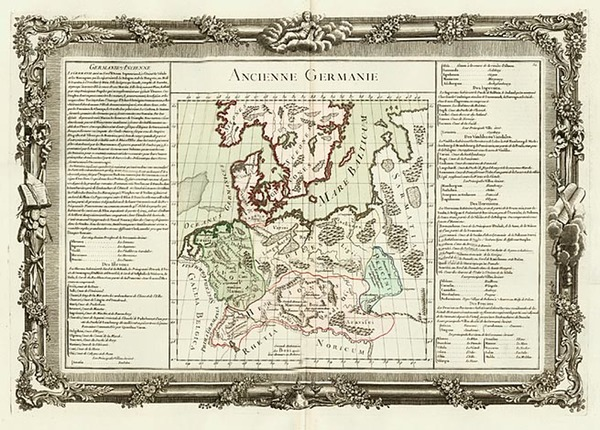 89-Europe, Germany, Poland, Baltic Countries and Scandinavia Map By Buy de Mornas
