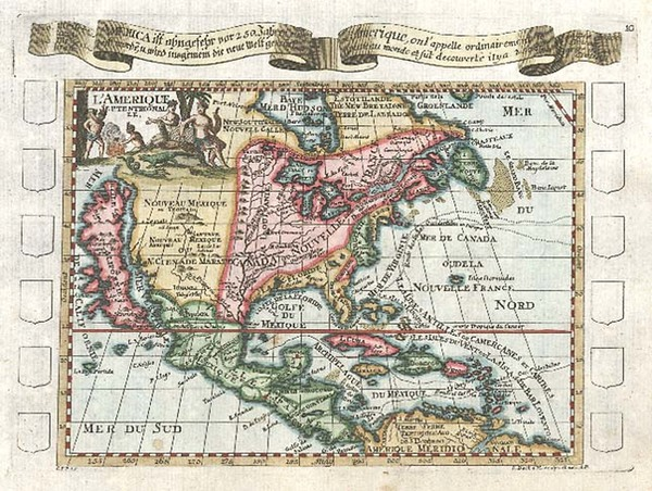 65-North America and California Map By Elias Baeck
