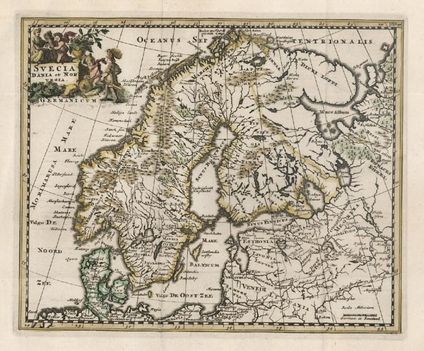 25-Europe and Scandinavia Map By Philipp Clüver