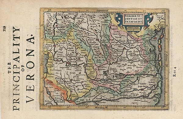 82-Europe and Italy Map By Henricus Hondius - Gerhard Mercator