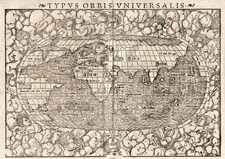 World and World Map By Sebastian Munster