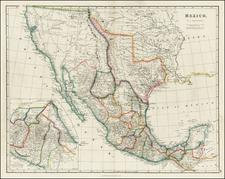 Texas, Southwest, Rocky Mountains and California Map By John Arrowsmith