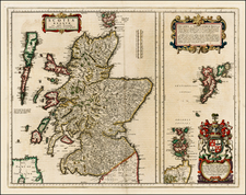 Scotland Map By Johannes Blaeu