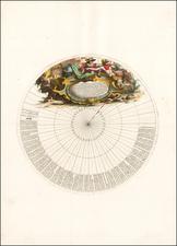 Polar Maps Map By Vincenzo Maria Coronelli