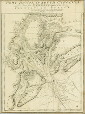 Southeast Map By Joseph Frederick Wallet Des Barres