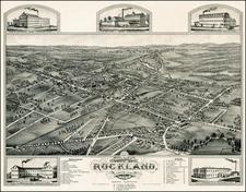 New England Map By J.J. Stoner / Beck & Pauli