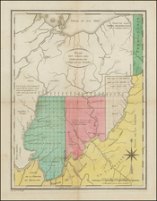Midwest and Ohio Map By Pierre Antoine Tardieu