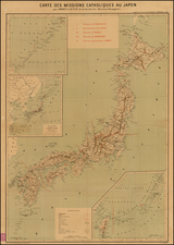 China and Japan Map By Adrien Launay
