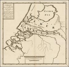 Netherlands Map By Pieter de Hondt