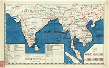 India, Southeast Asia and Other Islands Map By Anonymous